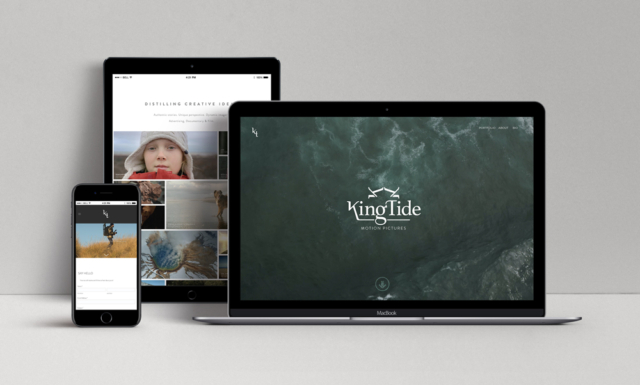 Website design for a documentary film maker