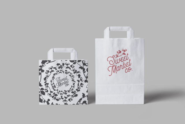 Logo and product design for a gourmet small batch bakery